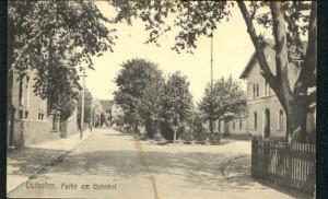 Bahnhofsvorplatz um 1910